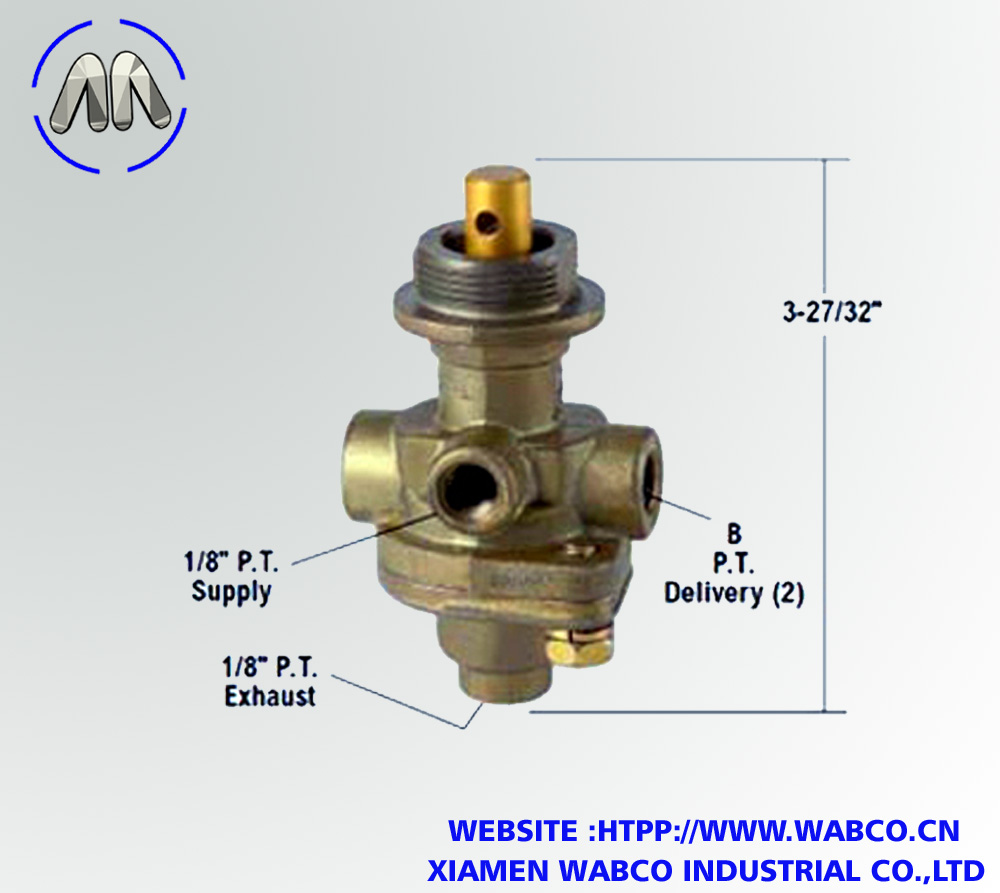 Aftermarket PP-8 Push/Pull Valve - Replacement Bend