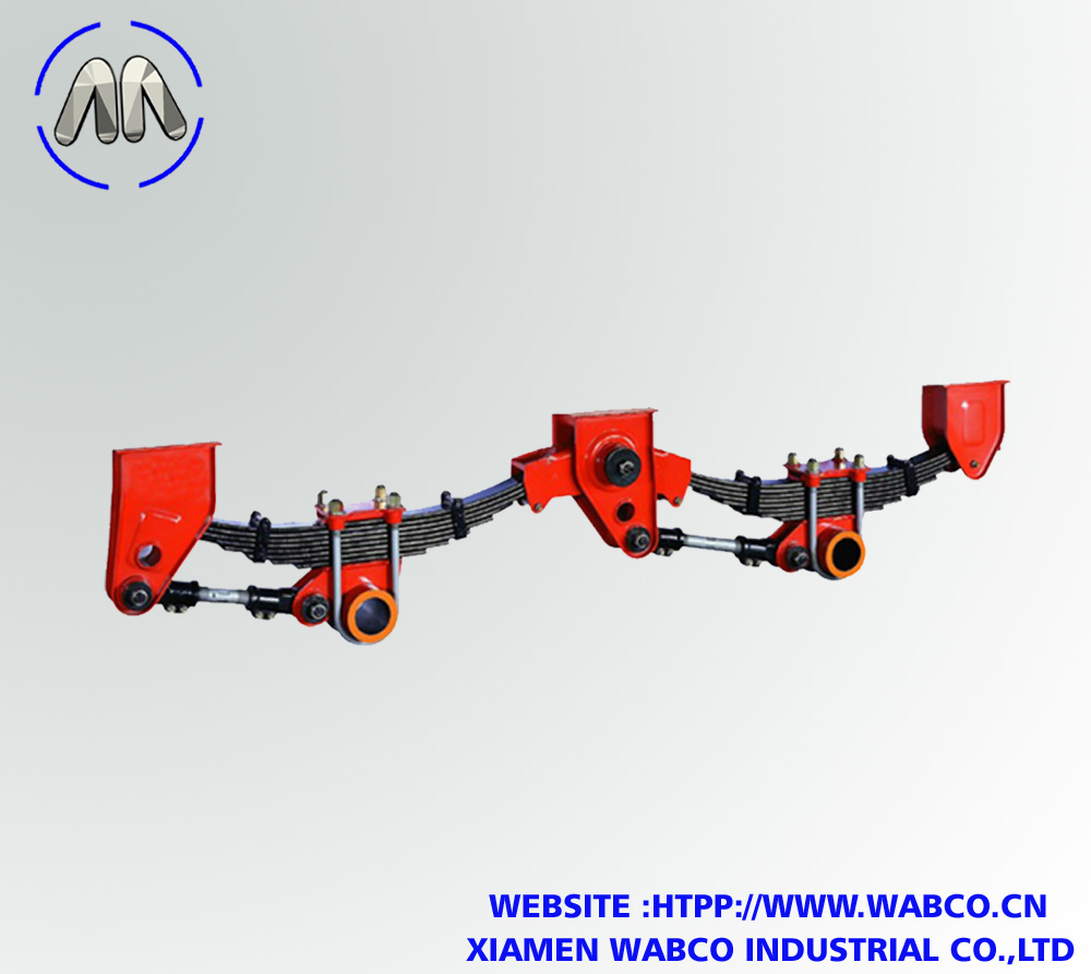 2 Axle American Type Mechanical Suspension