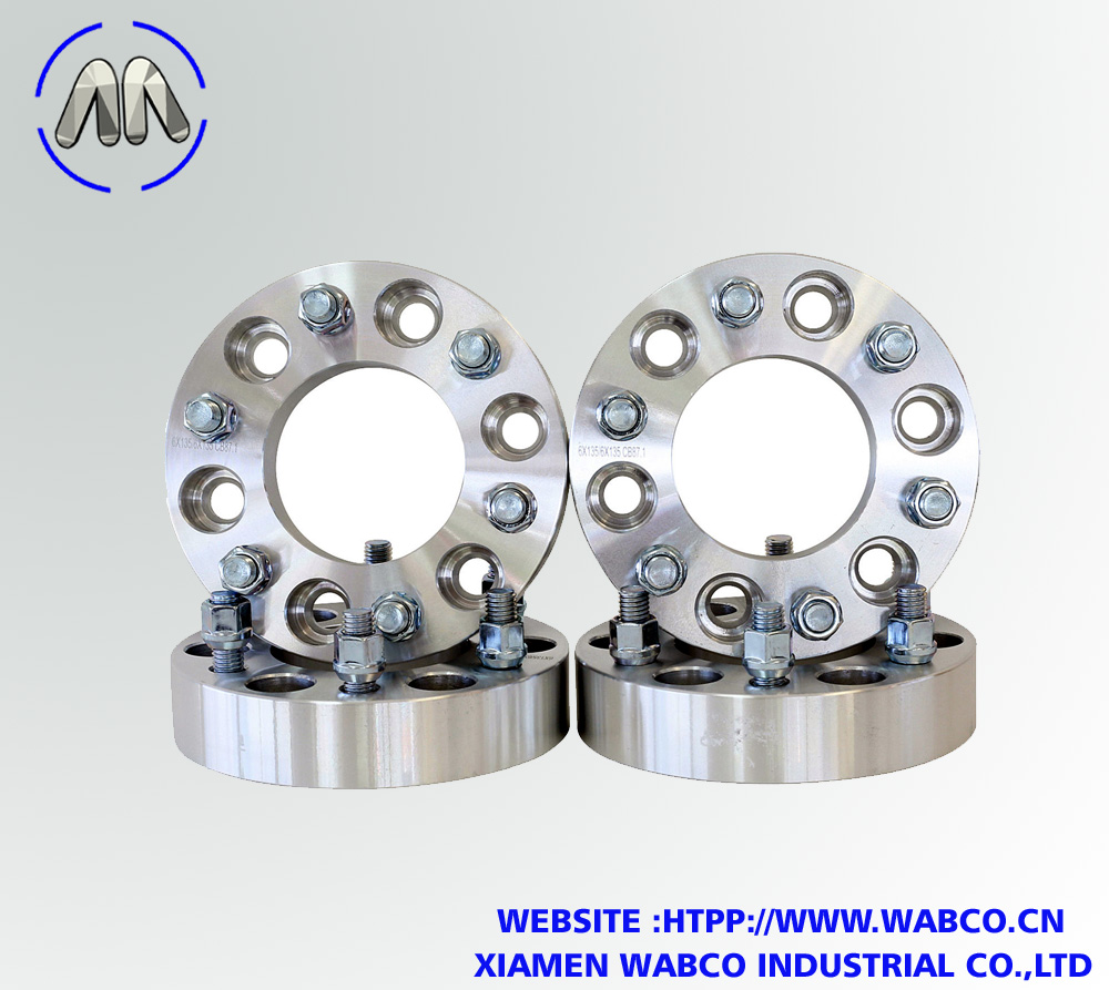 "6 Lug 5.5"" Hubcentric Wheel Adapter   2 Inch"