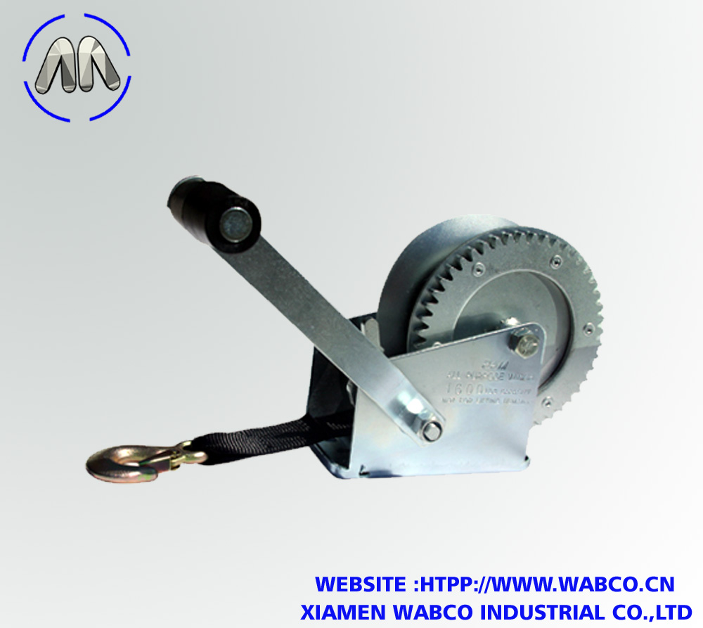 1,600 lbs trailer winch manufactured