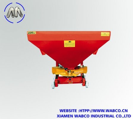 Fertilizer spreaders disc: 380, 500 and 600 liters