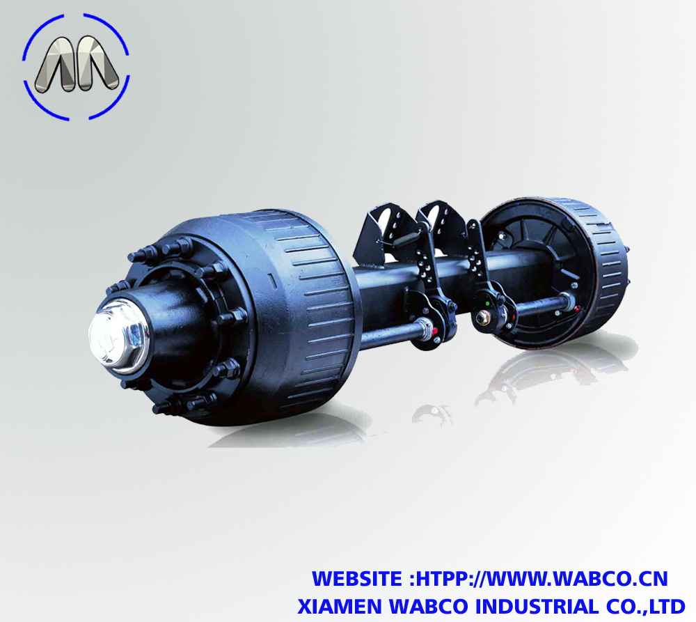 German Type Drum Wheel Semi Trailer Axle