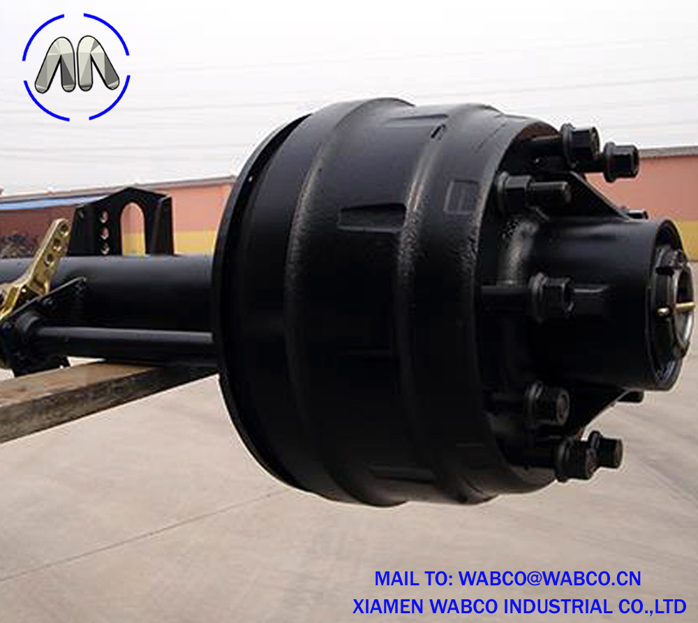 127 Round Beam Semi Trailer Axle
