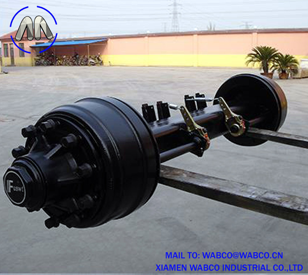 127 Square Beam Semi Trailer Axle