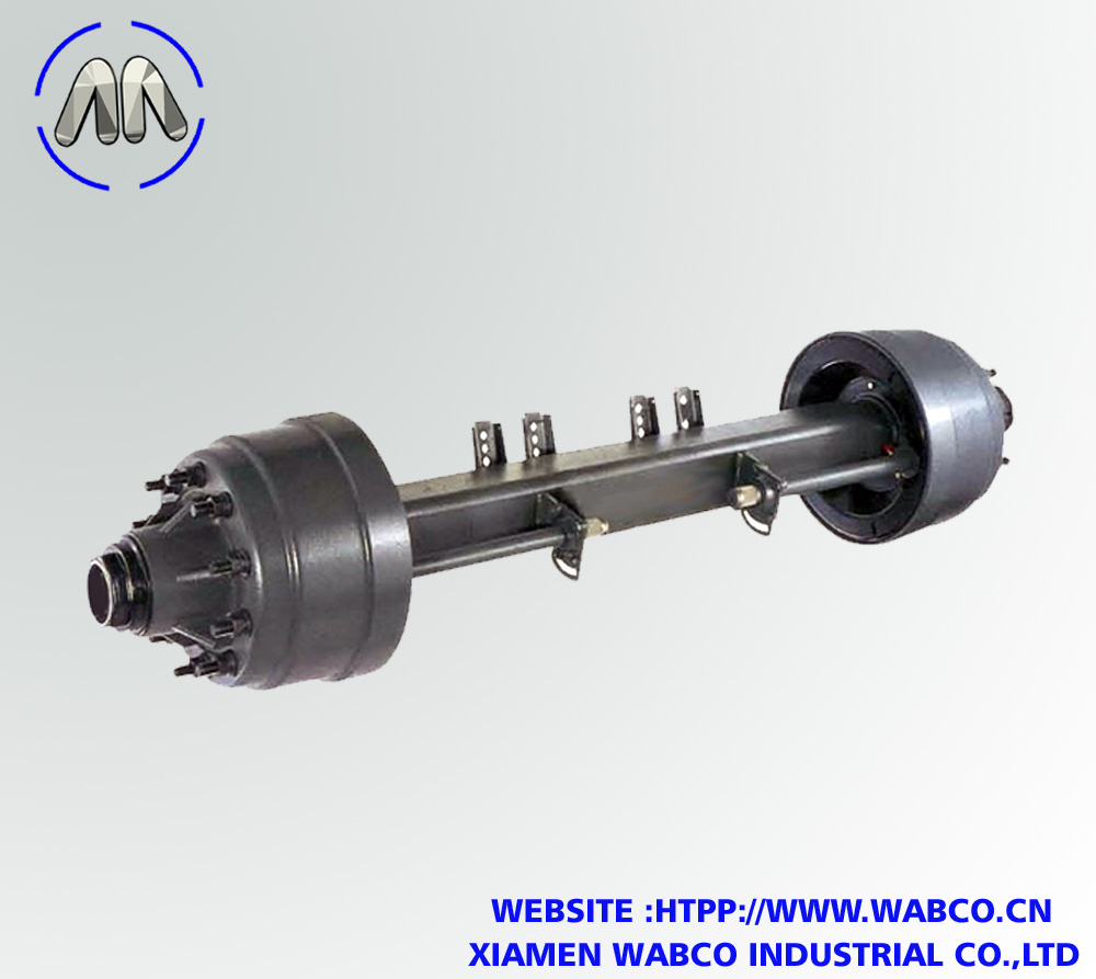 America type semi trailer axle – 13T