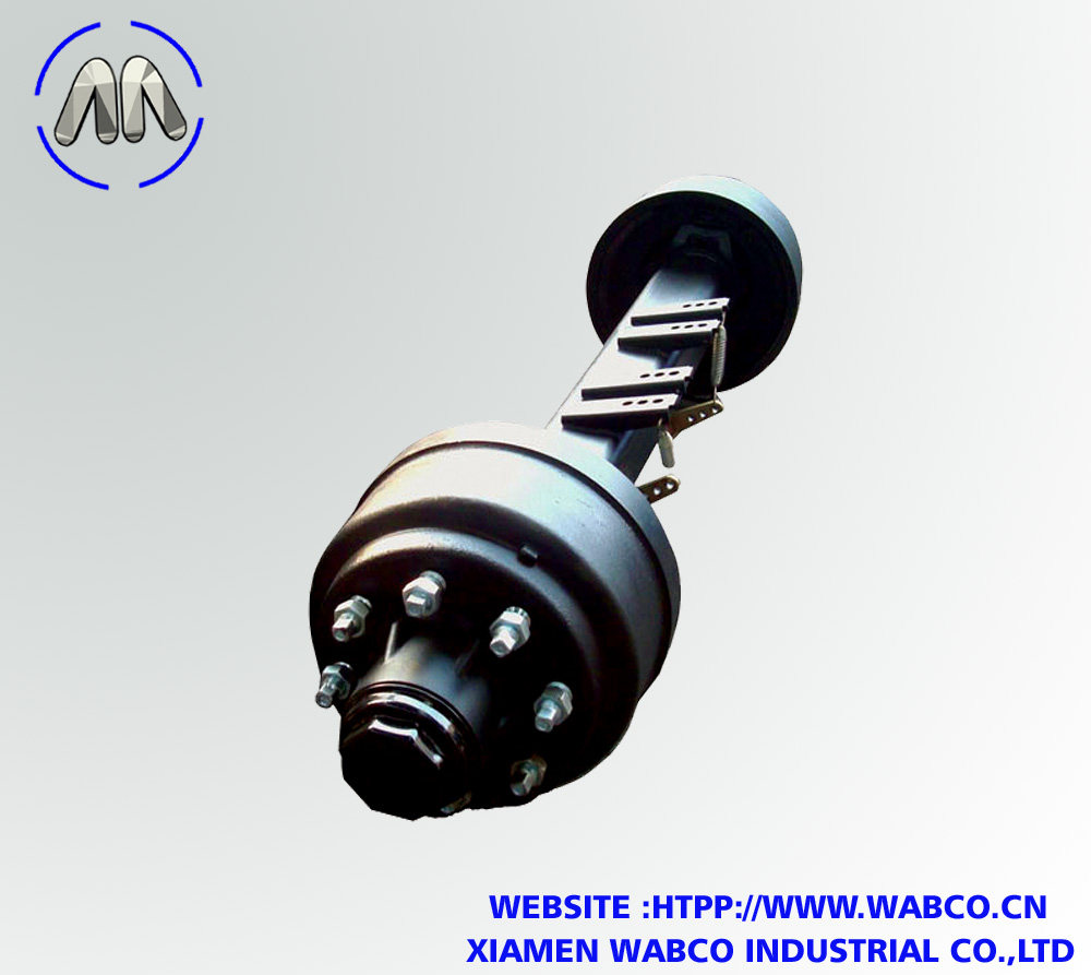 FUWA Heavy Duty Semi Trailer Drum Axle – Capacity