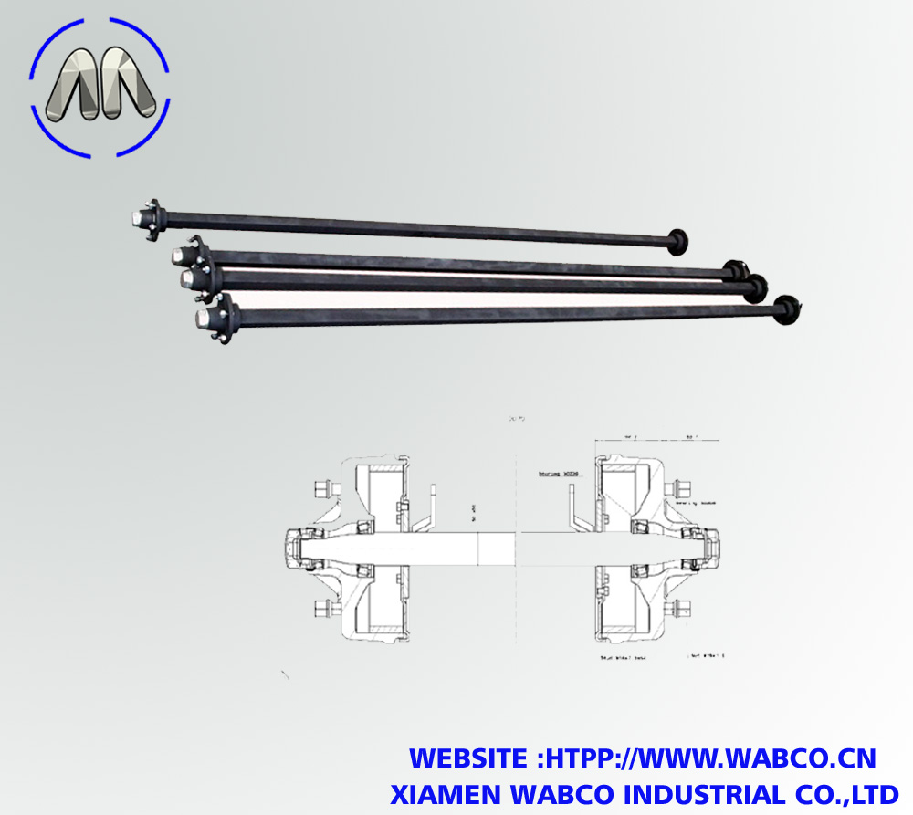 Agricultural Solid Square Beam Axle