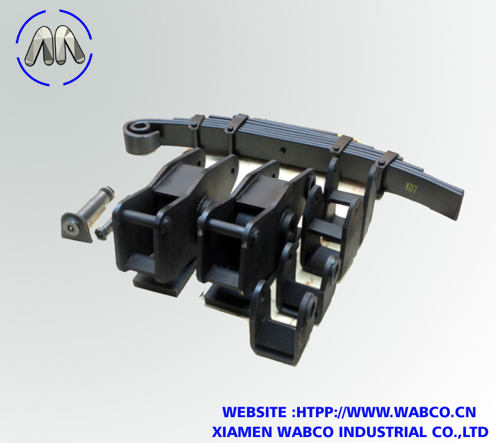 3 Axle Bpw Type Mechanical Suspension For Semi Trai