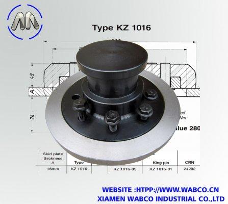 Aftermarket Jost KZ 1016 King pins 90mm – 3.5″
