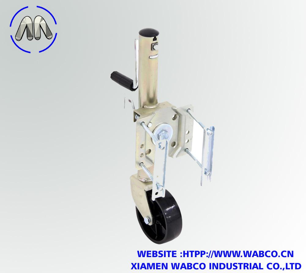 Aftermarket Round Swivel Marine Jack w/ Wheel – B
