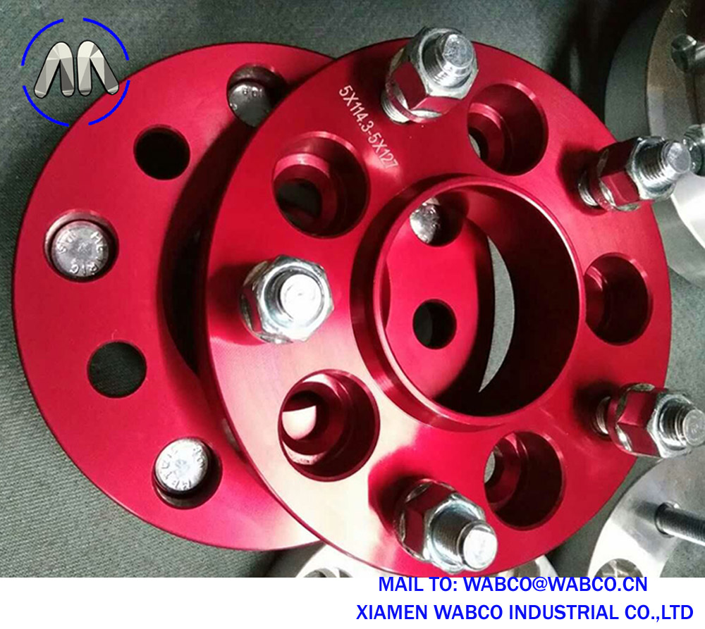 5 X 114.3 To 5 X 127,1.25 Inch 32Mm 4 Wheel Adapter