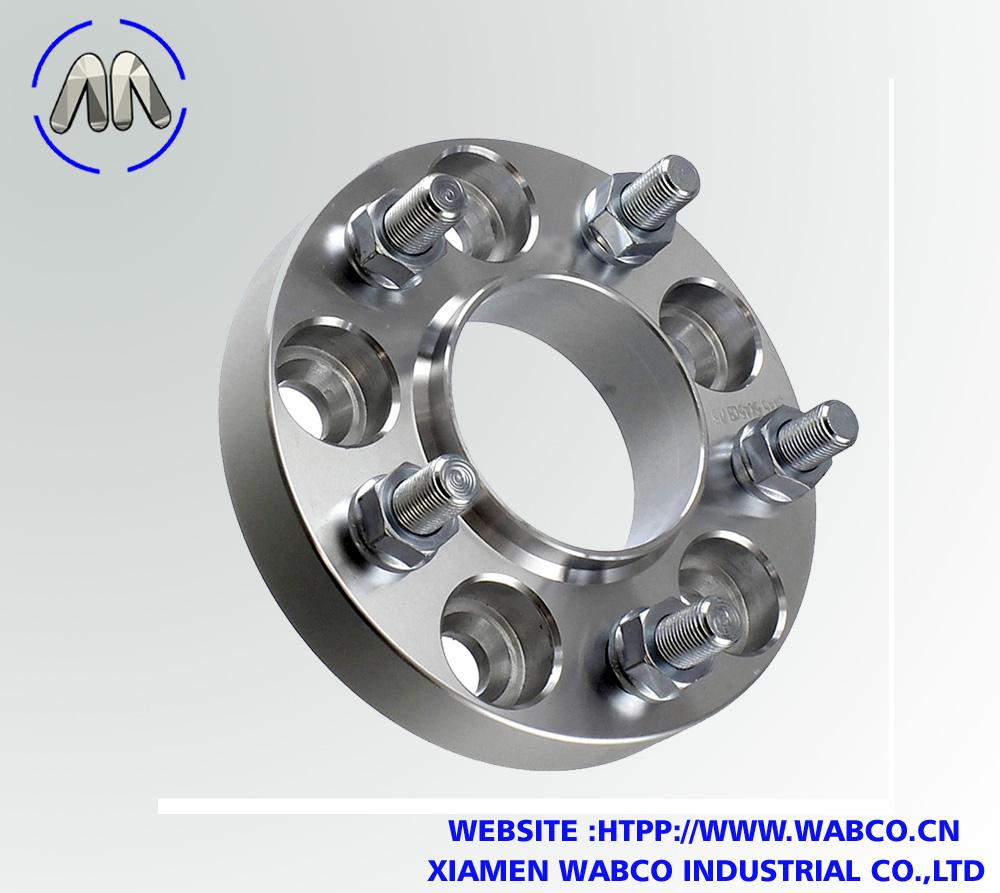 """5 Lug 4.75"""" – 1 Inch (25mm) Wheel Spacers Adapt"""