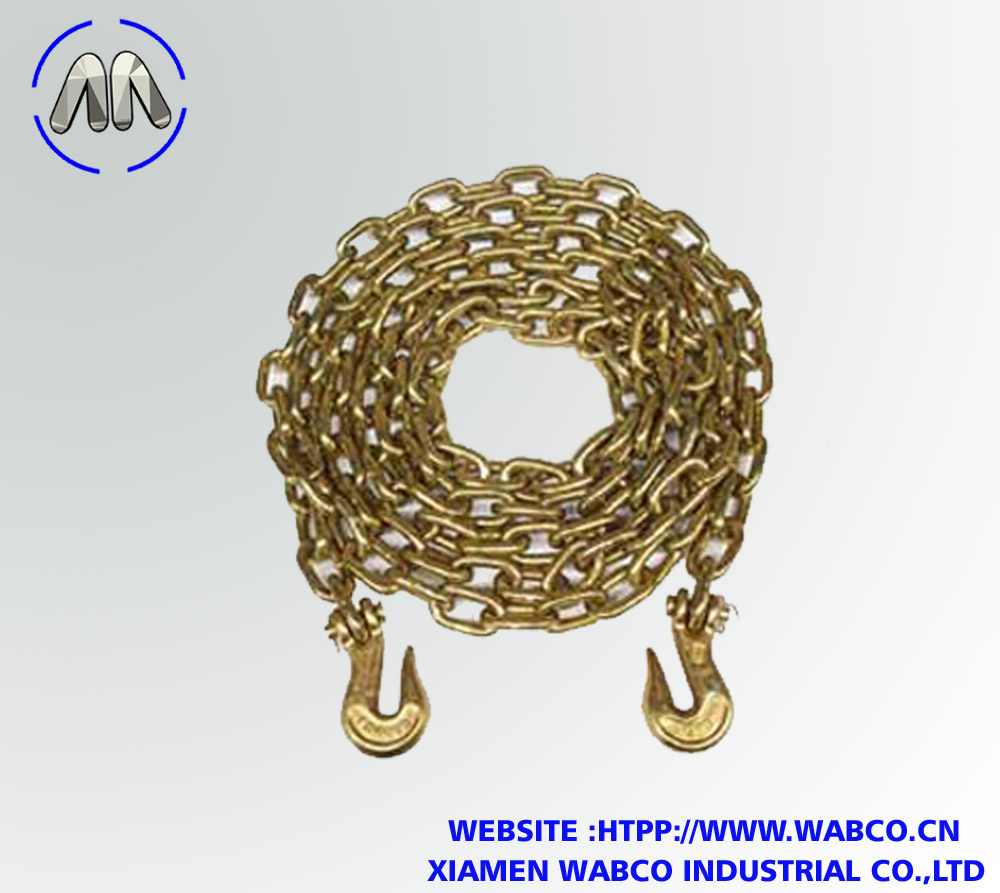 Grade 70 Transport Chain with Clevis Grab Hooks