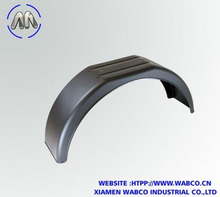 "Black Plastic Mudguard suitable for 13"" Wheels"