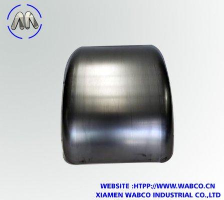 Double radius single axle mild steel guard  mudguar