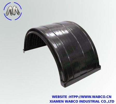 Heavy truck /trailer Black mudguard Rust Resistant,