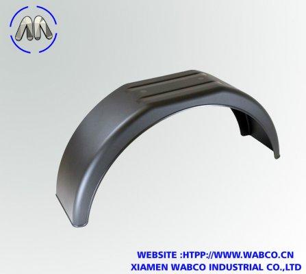 """Single Galvanised Steel Mudguard for 10"""" Wheel"""