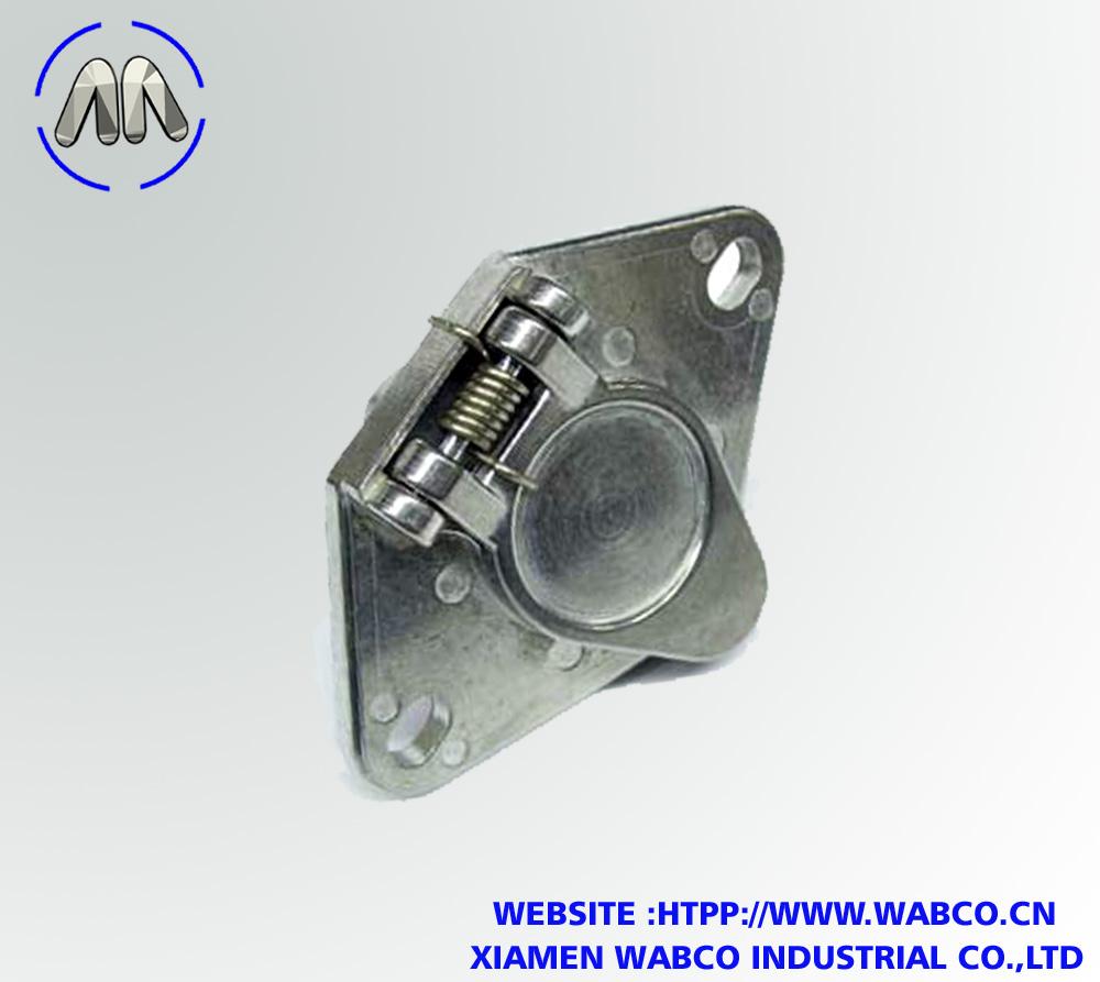 4-Way Trailer Wiring Connector Socket