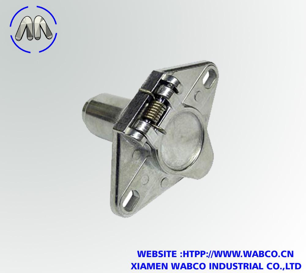 6-Way Trailer Wiring Connector Receptacle