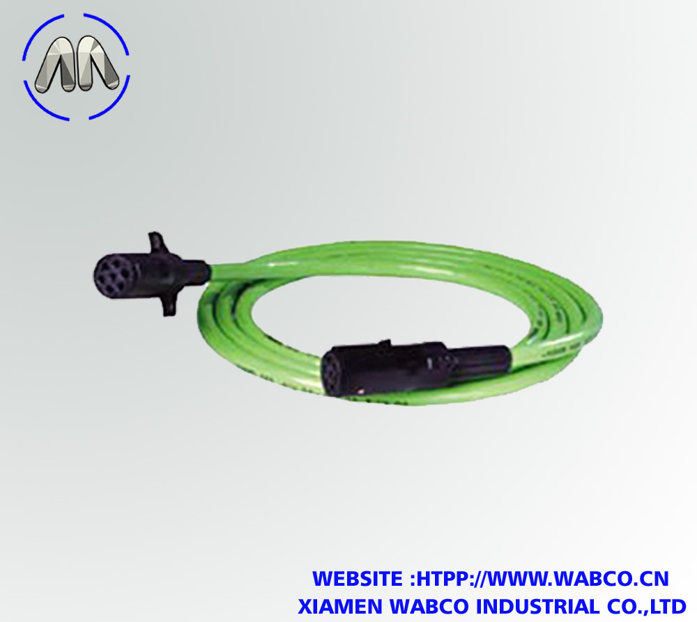 7-Way Straight ABS Lectraflex Cable Assembly