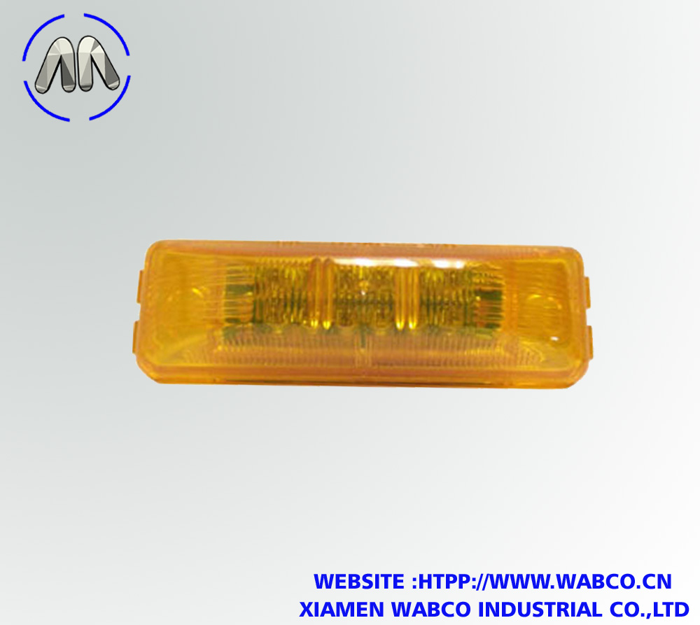 HD192Y Amber Long Rectangular LED Marker Light