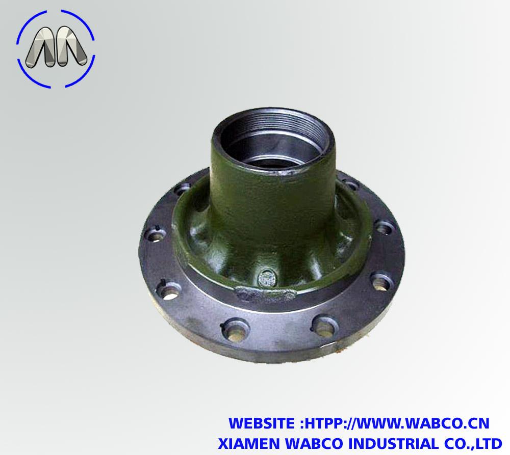 Semi truck Brake Drum and Wheel Hub for BPW12