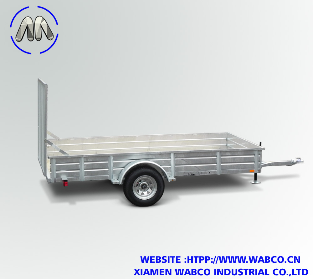 Solid Side Utility Trailers