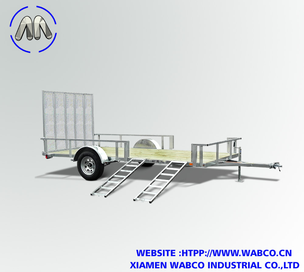 Side Access Utility Trailers