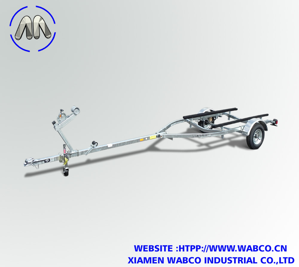 Galvanized Single Axle Bunk 16