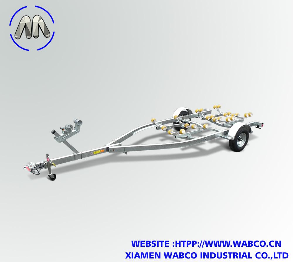 Galvanized Single Axle Roller