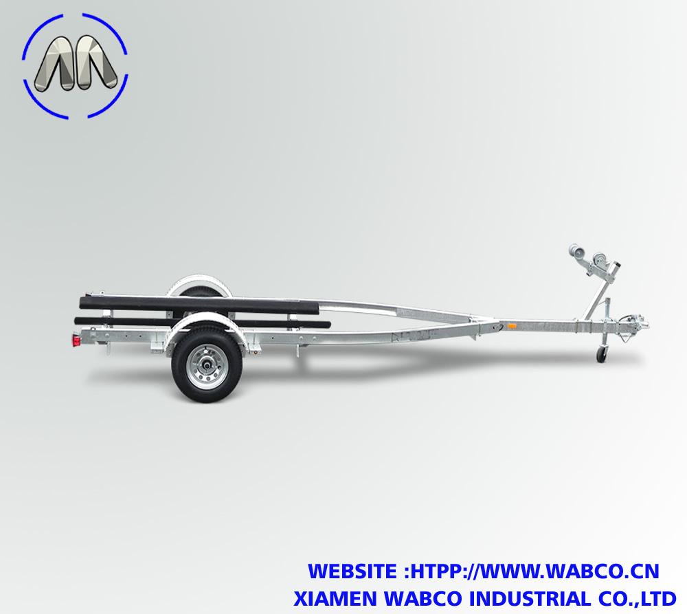 "Galvanized Single Axle Bunk 17"" And Over"